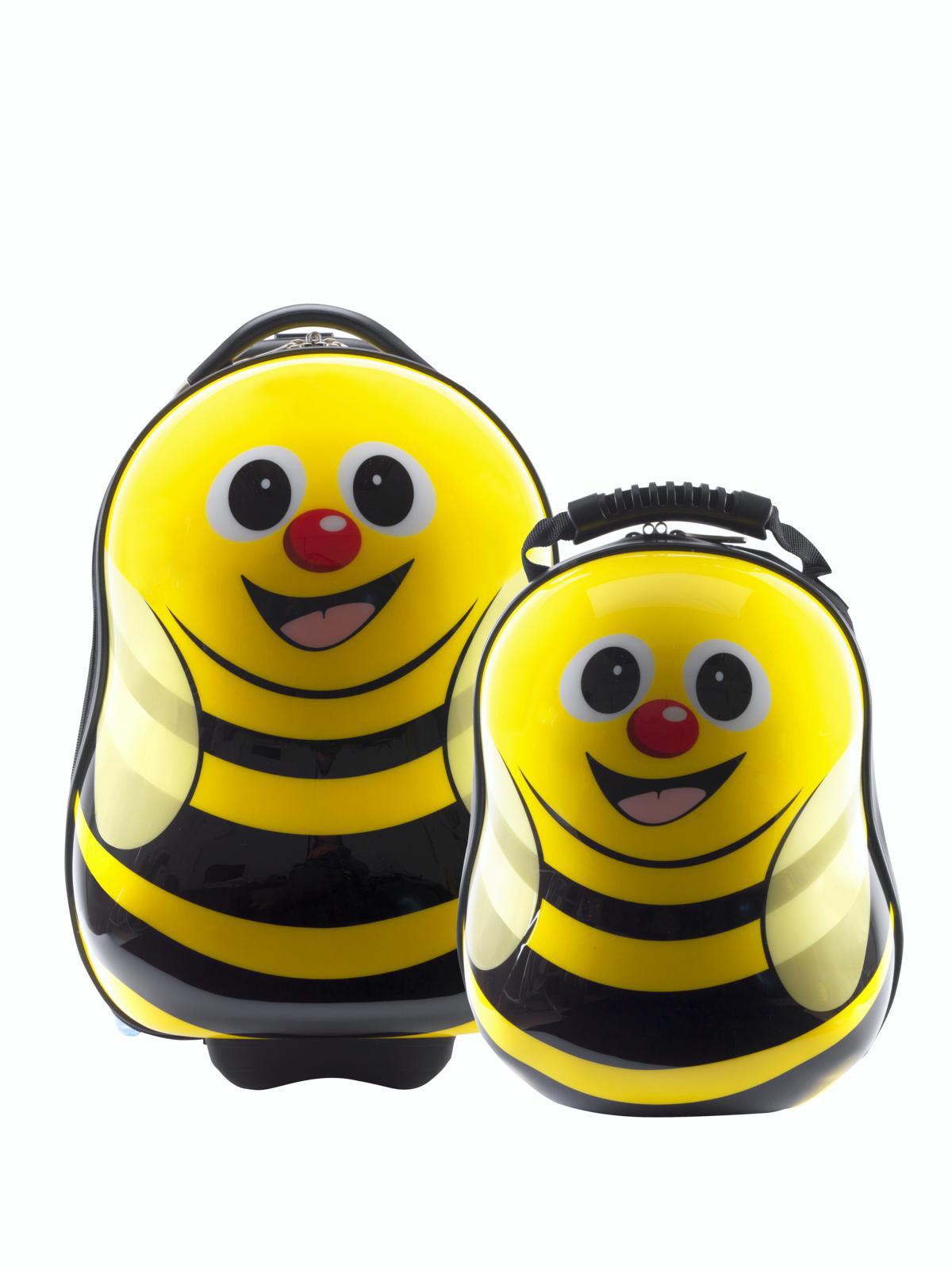 Dětská sada batoh a kufr Včelka