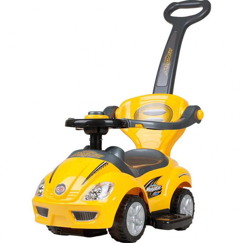 Detské Jezdítko 3v1 Bayo Mega Car yellow