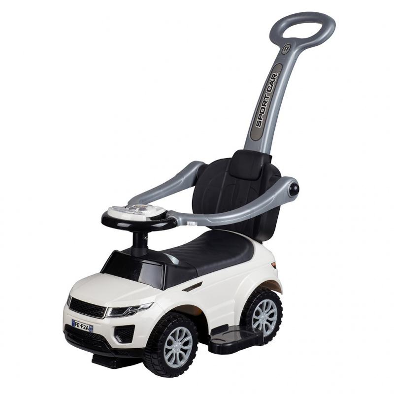 Detské hrajúci Jezdítko 3v1 Bayo Sport Car white