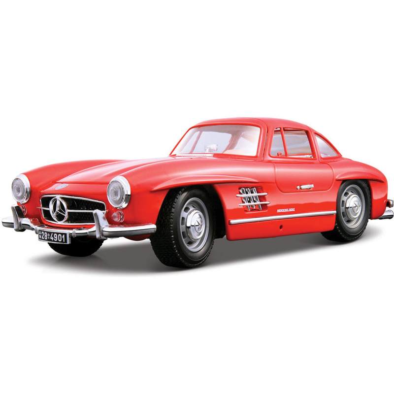 Bburago 1:18 Mercedes-Benz 300 SL(1954) Red