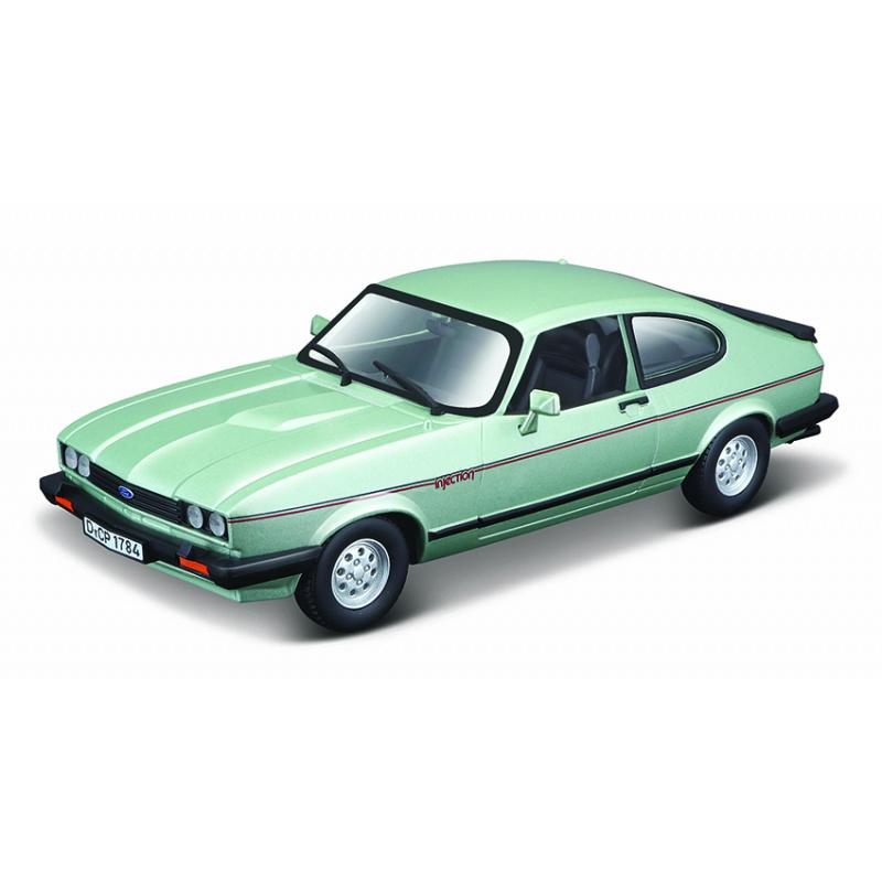 Bburago 1:24 Plus Ford Capri 1982 jasnozielony