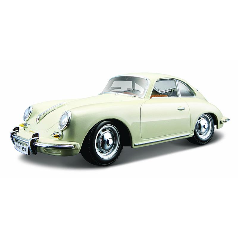 Bburago 1:24 Porsche 356B Coupe (1961) Ivory