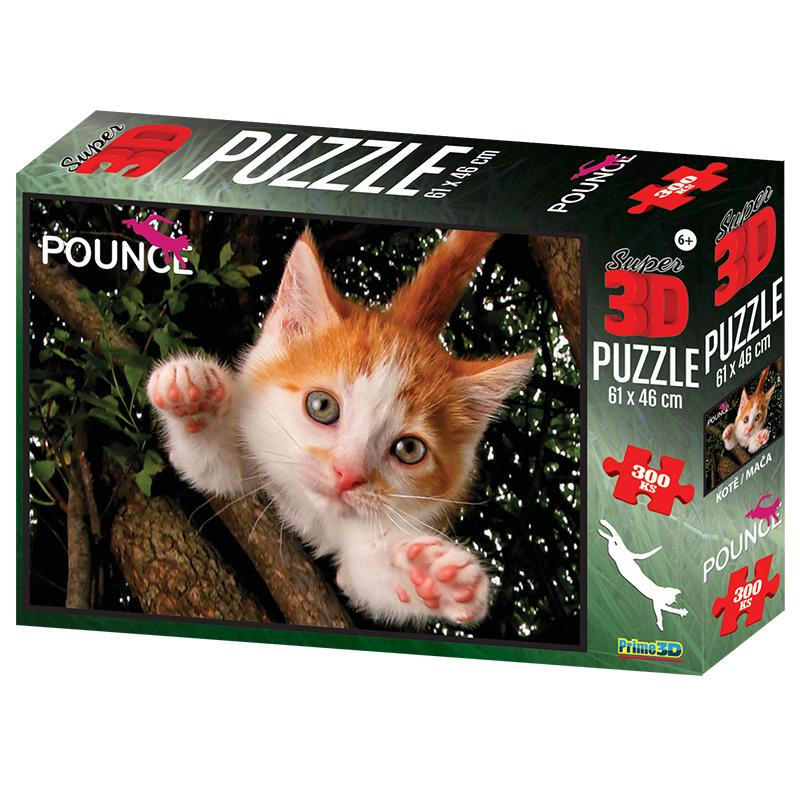 Puzzle 3D 300 dílků Jennifer