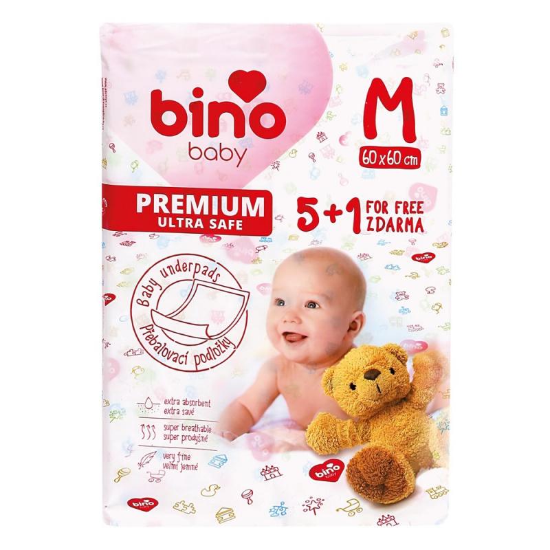 Bino BABY podložka  M 5+1 ks