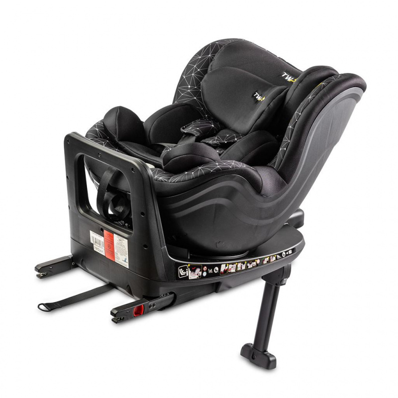 Autosedačka CARETERO Twisty Isofix i-Size black