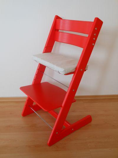 Dětská rostoucí židle JITRO KLASIK červená