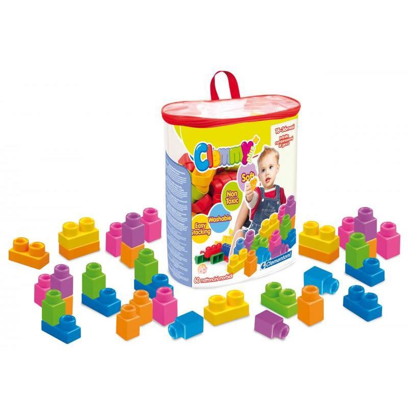 Clemmy plus - 60 kostek v plastovém pytli