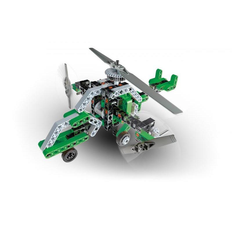Mechanicka laboratoř - Helikoptéra a loď, 130 dílků