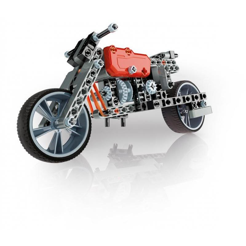 Mechanická laboratoř - Motorka a formule, 130 dílků