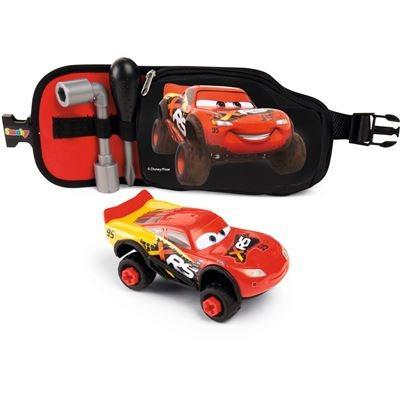 Pás s nářadím a auto Cars Blesk McQueen XRS