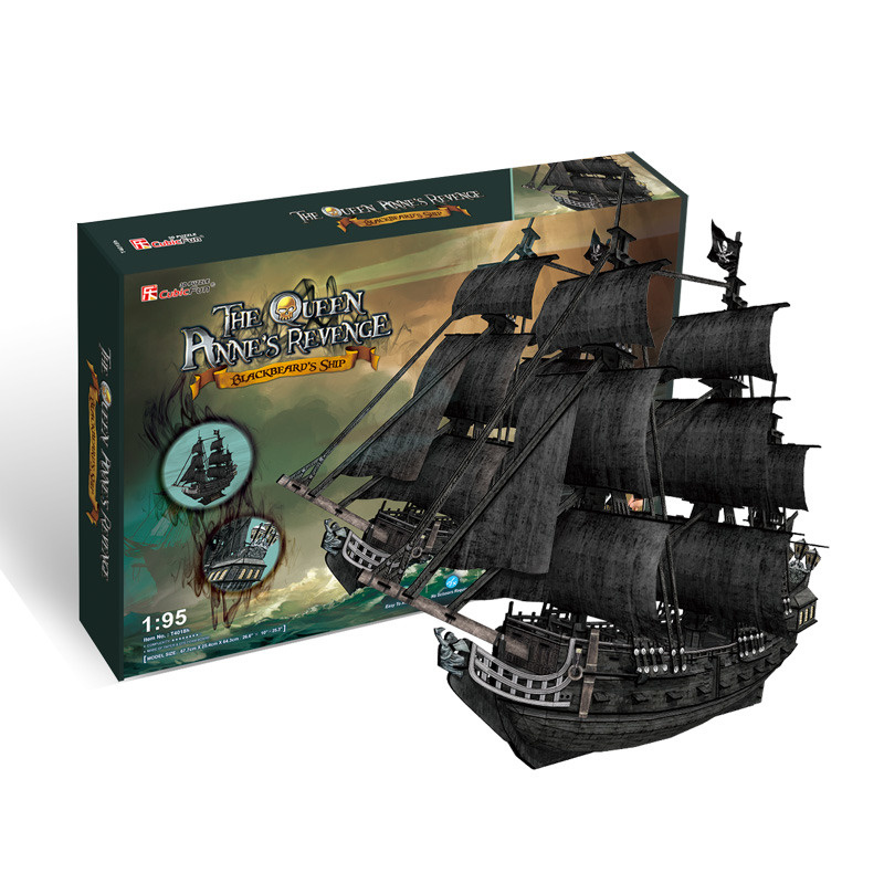 Puzzle 3D The Queen Anne 's Revenge