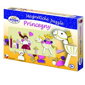Magnetické puzzle Princezny
