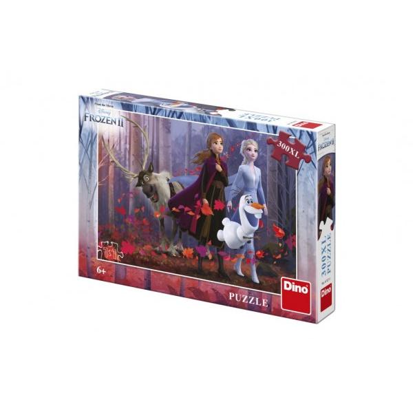 Puzzle XL Ledové království II/Frozen II  300dílků 47x33cm v krabici 28x19x4cm