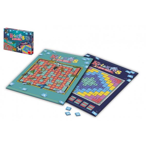 Kris Kros pre deti spoločenská hra v krabici 33,5x23x3,5cm