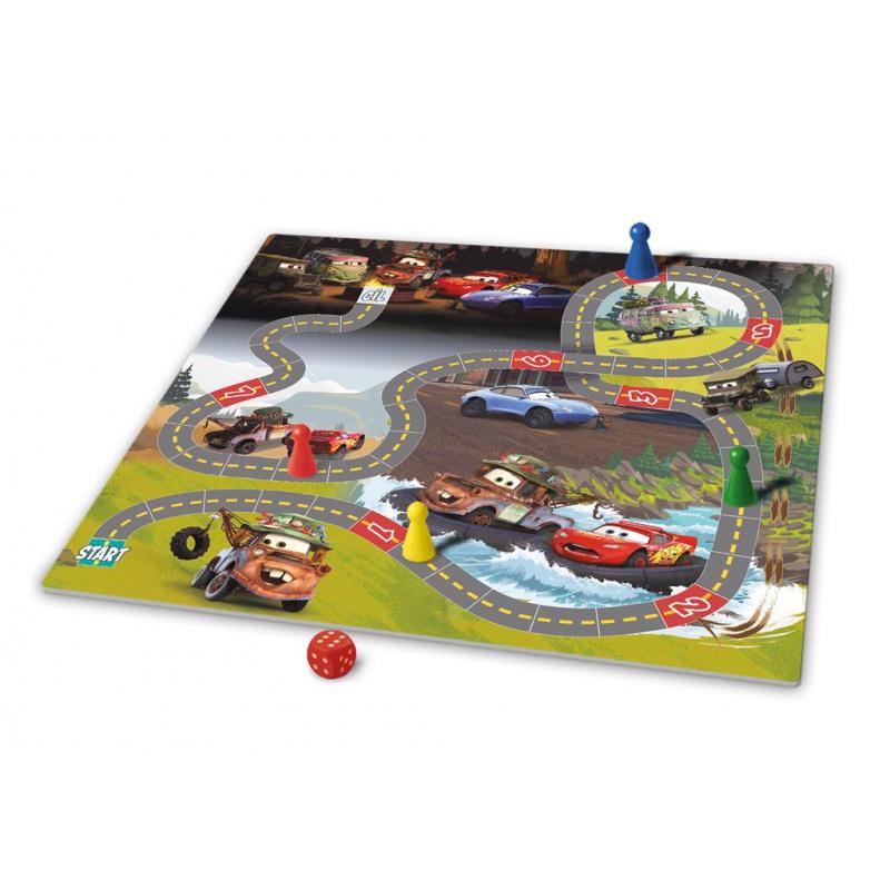Hra Cars Pojeď si hrát a Závody