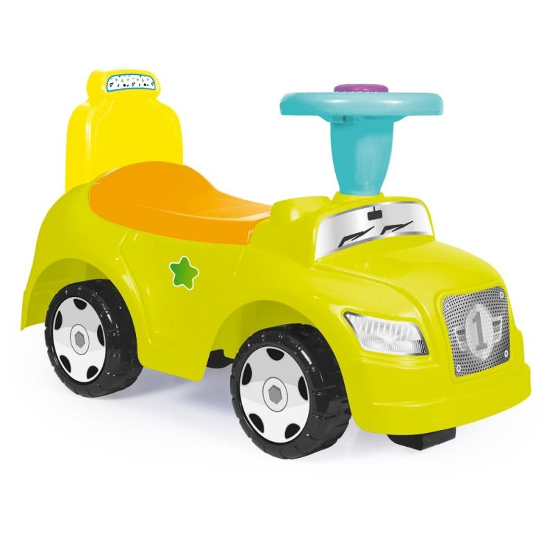 Odrážedlo auto zelené 2 v 1