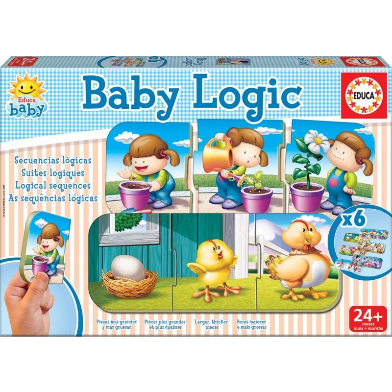 Baby skládačka - logika