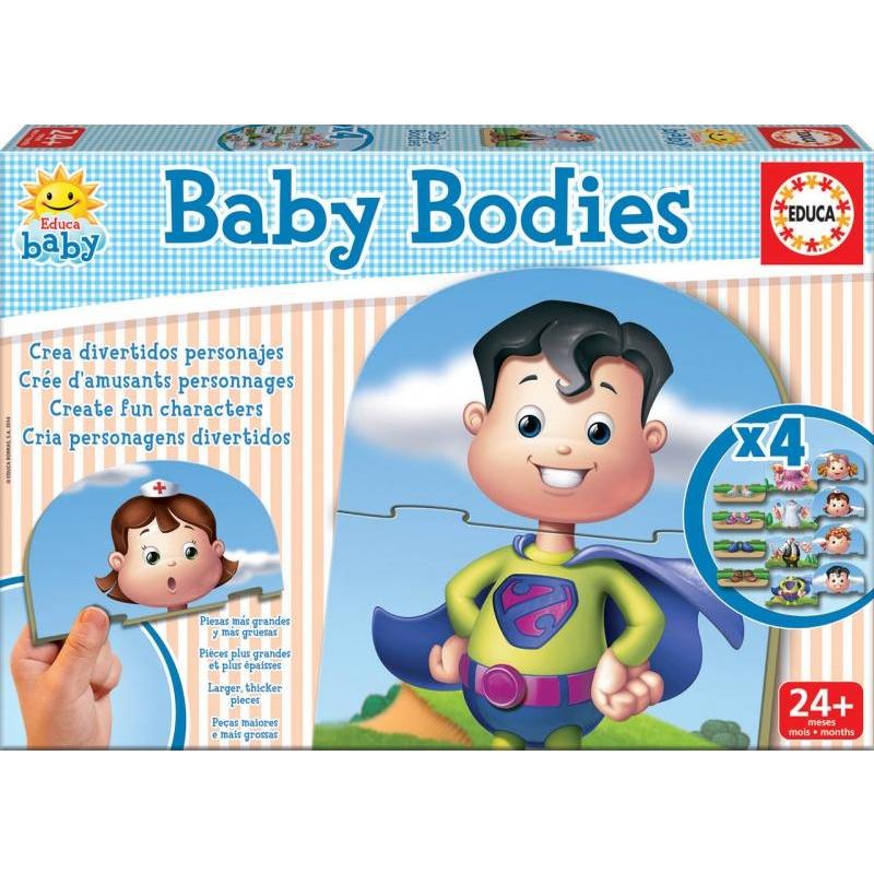 Baby skládačka - tělo
