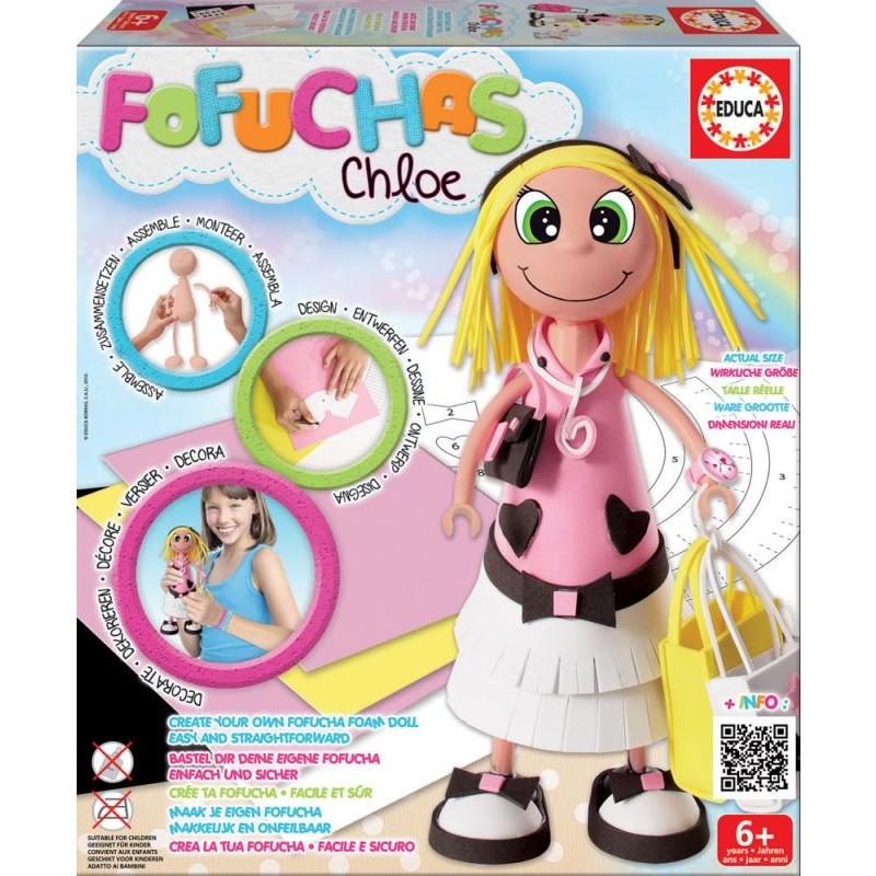 Chloe - sestav si svou panenku