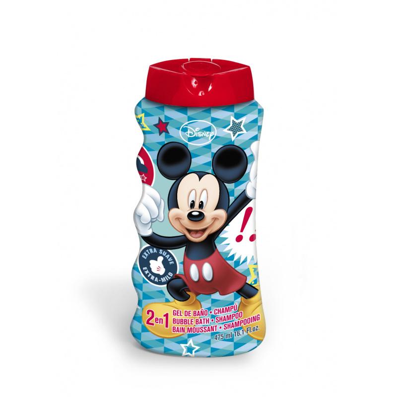 Szampon i żel pod prysznic 2w1 Mickey 475 ml