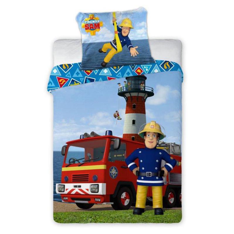 Detské obliečky Požiarnik Sam 135x100 cm
