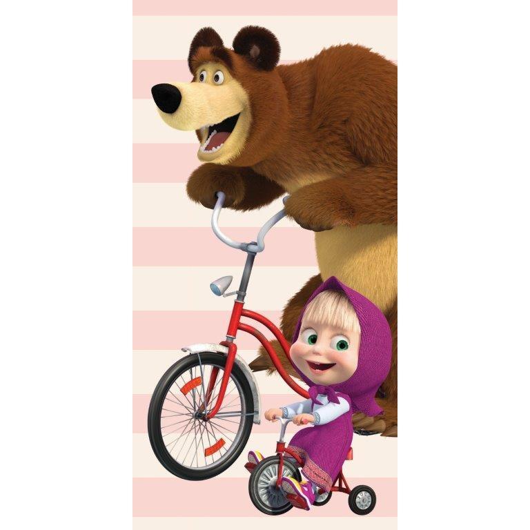 Detská osuška Máša a medveď 016