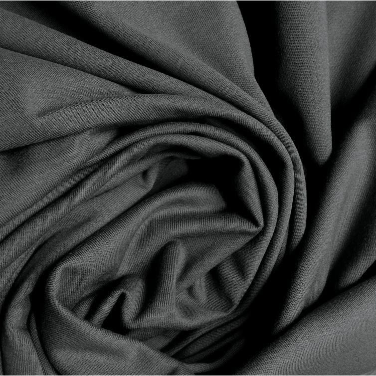 Bavlněné prostěradlo 200x90 cm - grafitové