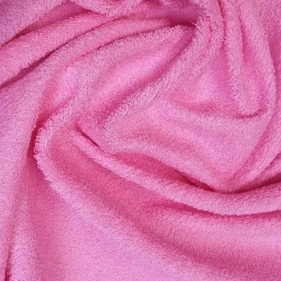 Froté prostěradlo 160x80 cm - růžové