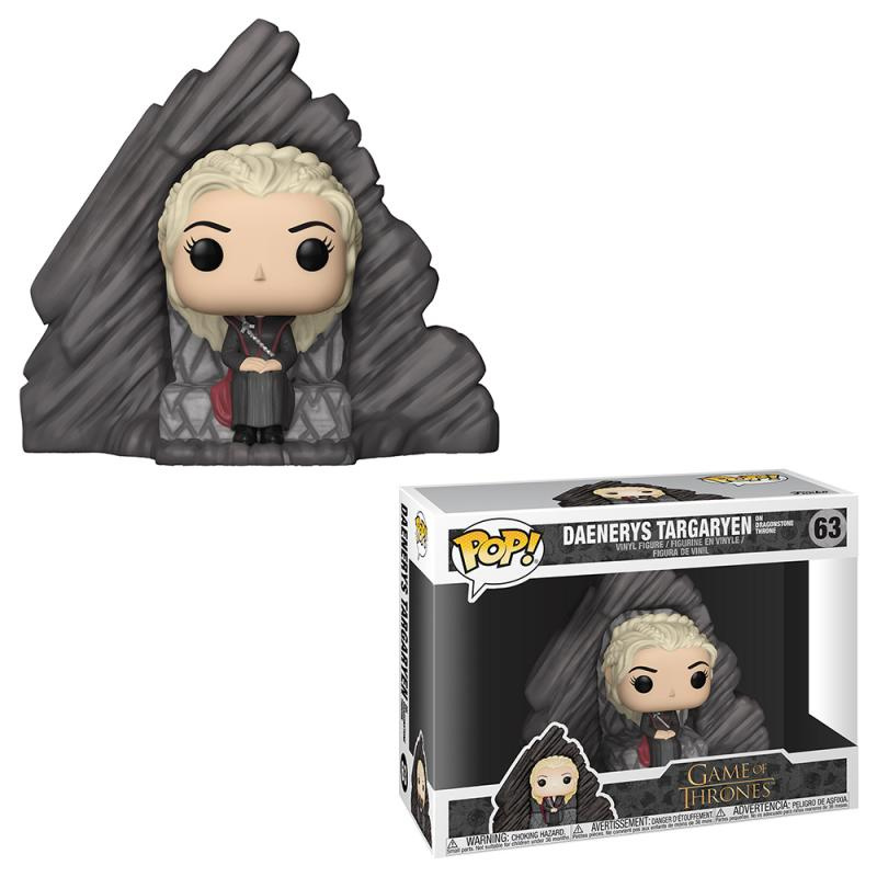 Funko POP Rides: Game of Thrones: Daenerys on Dragonstone Throne
