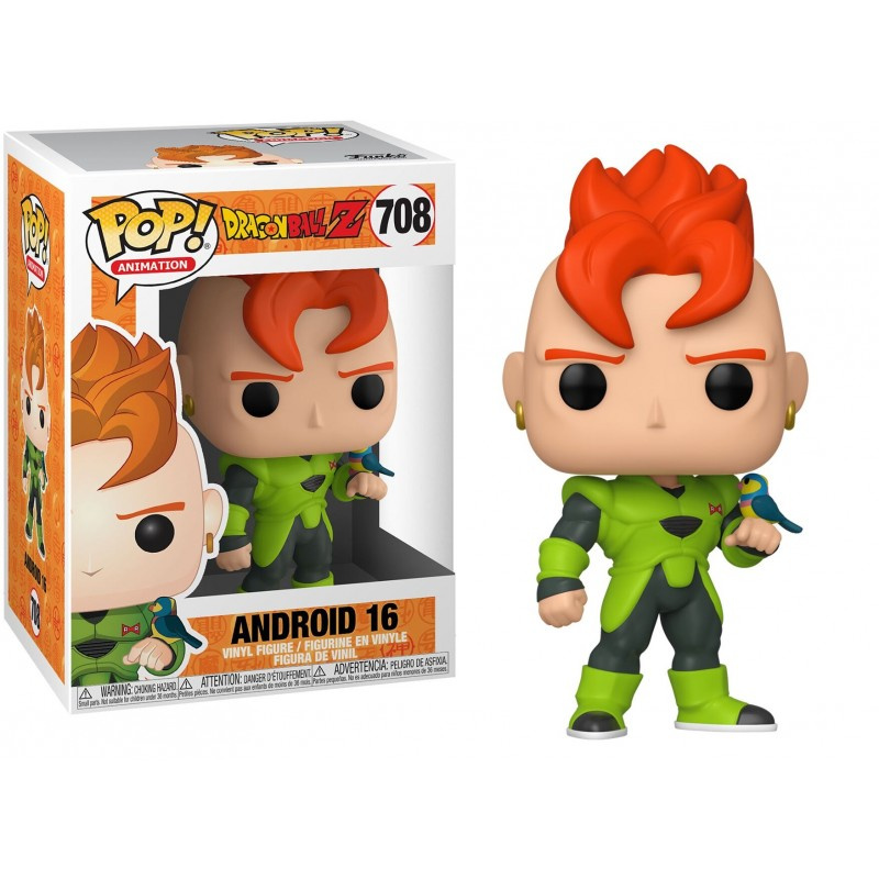 Funk POP Animation: DBZ S7 - Android 16