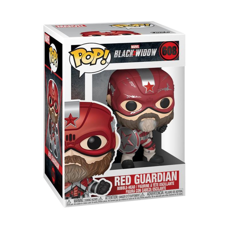 Funko POP Marvel: Black Widow – Red Guardian