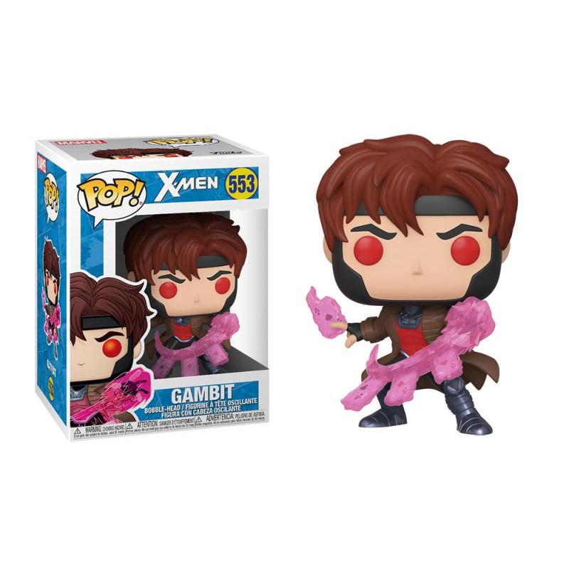 Funko POP Marvel: X-Men Classic – Gambit w/ Cards