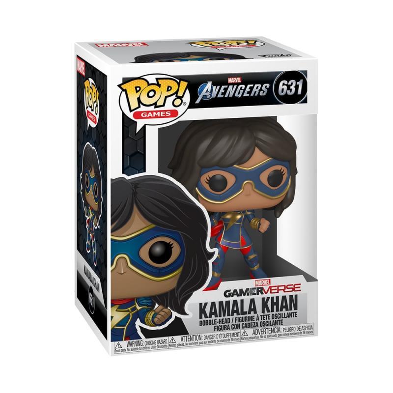 Funko POP Marvel: Avengers Game - Kamala Khan (Stark Tech Suit)