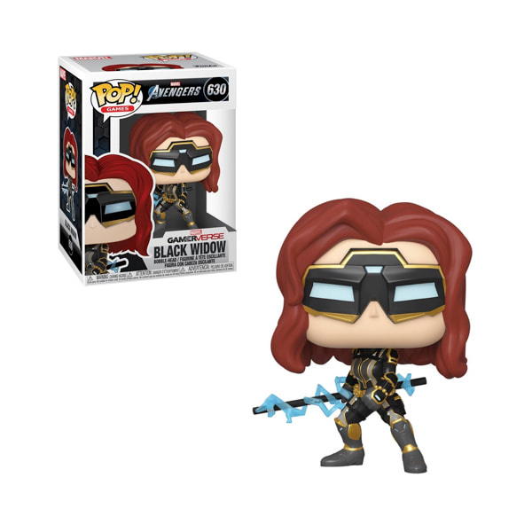 Funko POP Marvel: Avengers Game - Black Widow (Stark Tech Suit) (w/GW Chase)