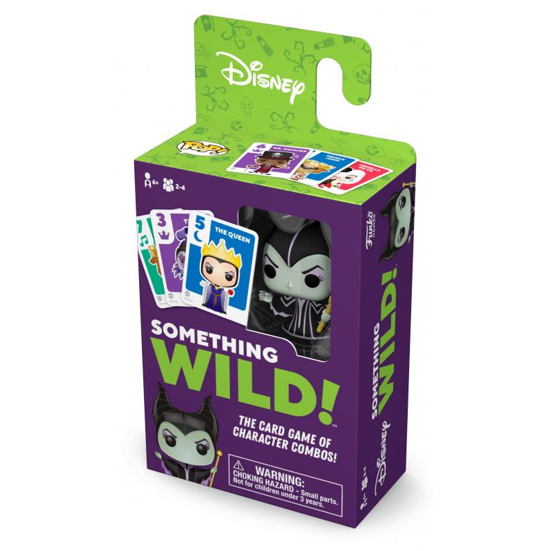Funko Signature Games: Something Wild Card Game - Villain