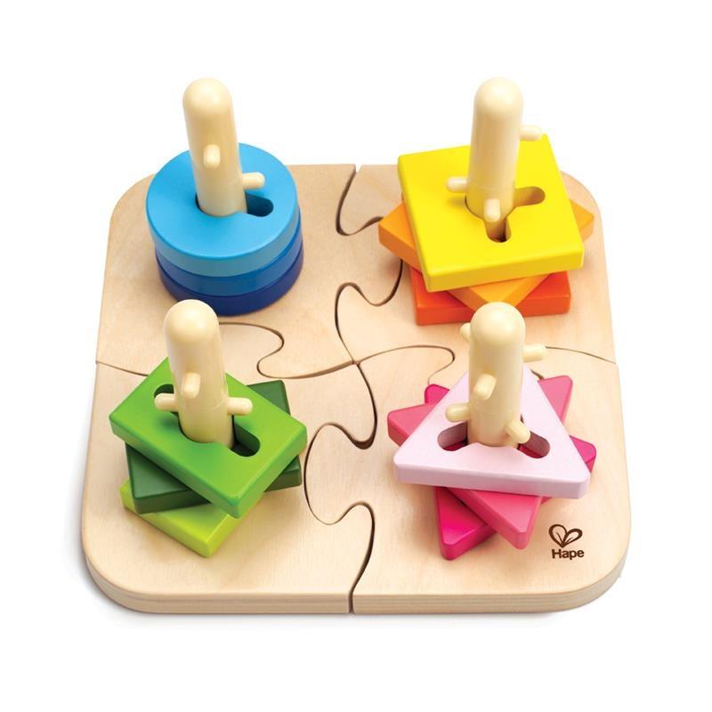 Kreativní dřevěné puzzle
