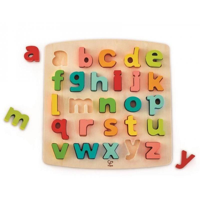 Puzzle tlustá abeceda