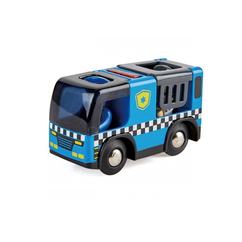 Policejní auto s houkačkou