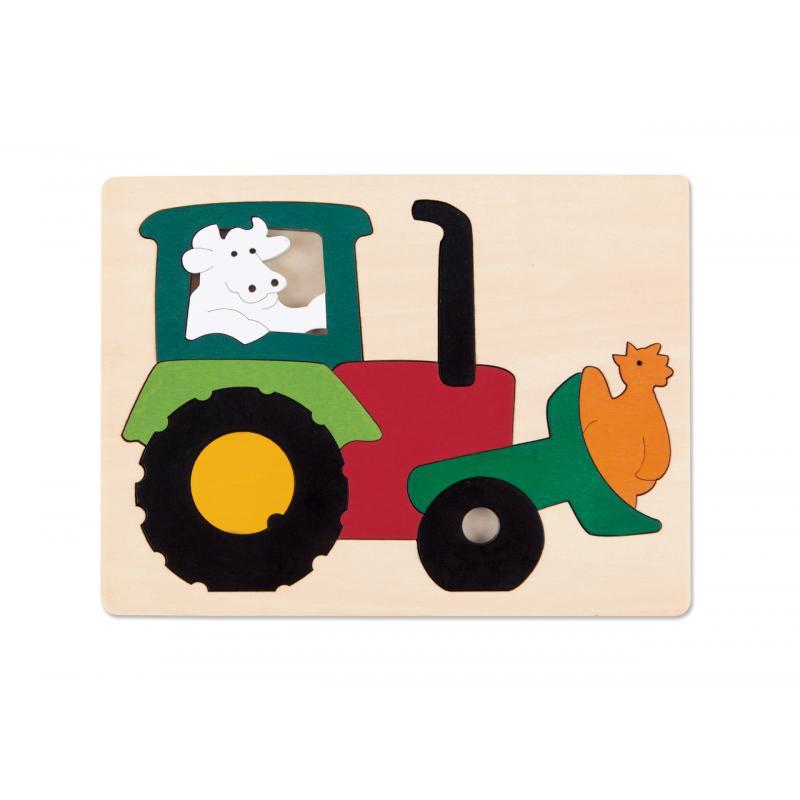Puzzle-Traktor