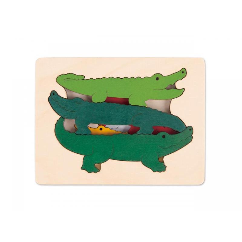 Puzzle-Krokodýli