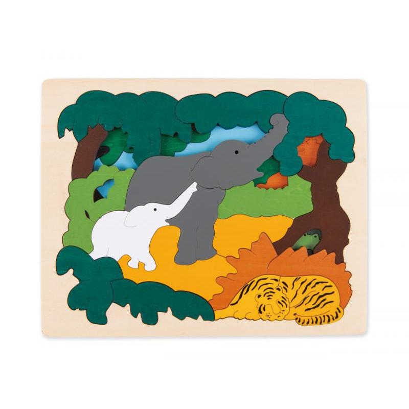 Puzzle-Asijská zvířátka