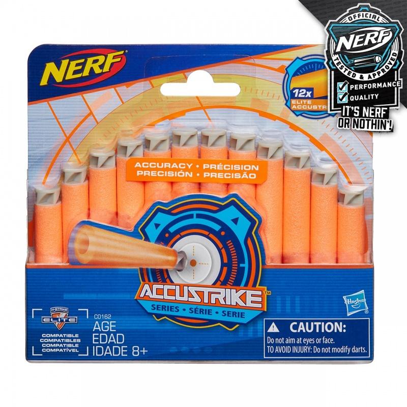 Nerf Accustrike náhradné šípky 12 ks