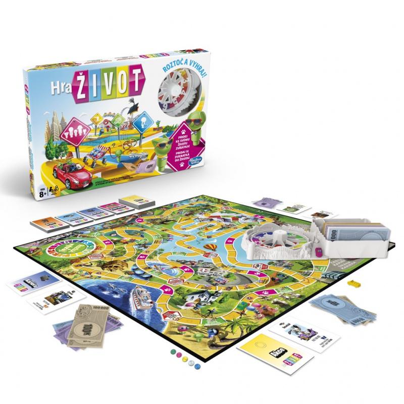 Společenská hra Game of Life
