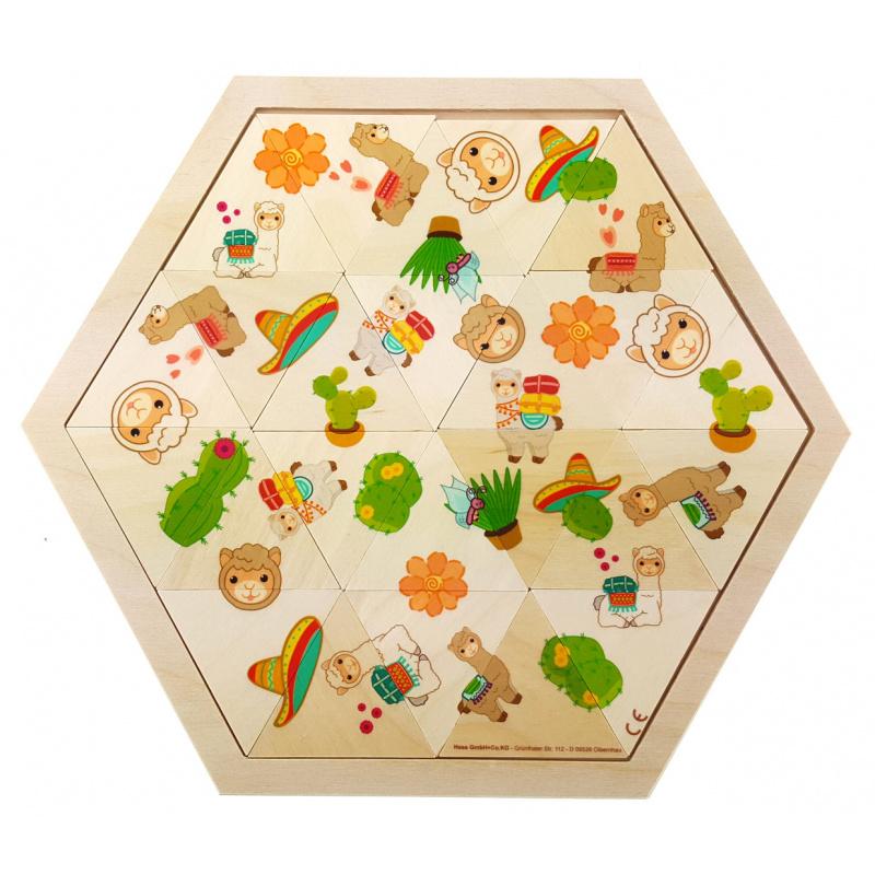 Hess Puzzle Mosaic Lama 24 sztuki