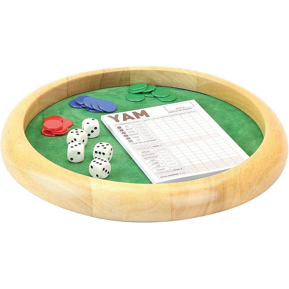 Jeujura Drewniana gra w kości Yam