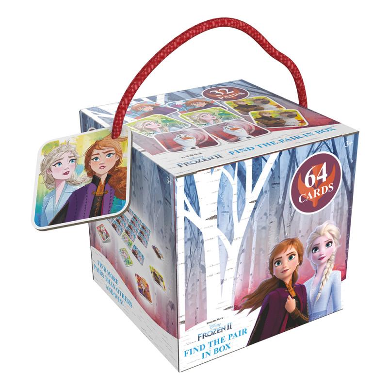 Pexeso na cesty Frozen 2 - Ľadové kráľovstvo
