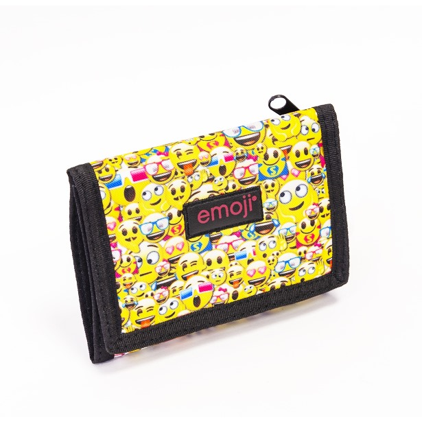 Portfel tekstylny dla dzieci Emoji