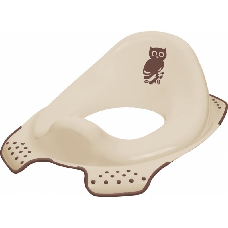 Keeeper Adaptér - treningové sedátko na toaletu Forest - hnědý