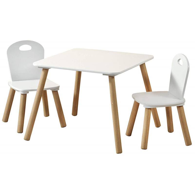 Detský stôl s stoličkami scanda