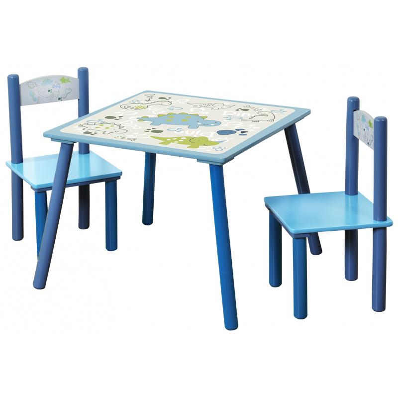 Detský stôl s stoličkami Dino